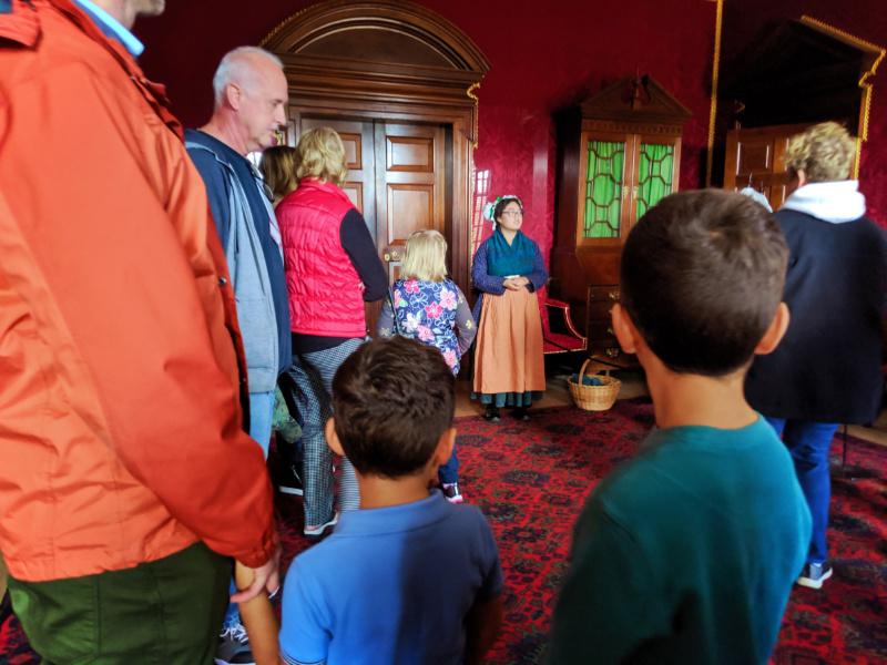 Taylor Family at Governors Palace Colonial Williamsburg Virginia 7
