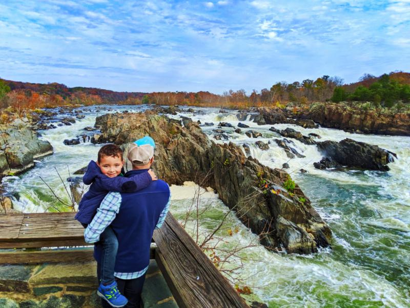 Taylor Family at Great Falls National Park Fairfax Virginia 1