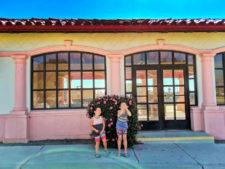 Taylor Family at Guadalupe Train Station Santa Maria Valley California 2