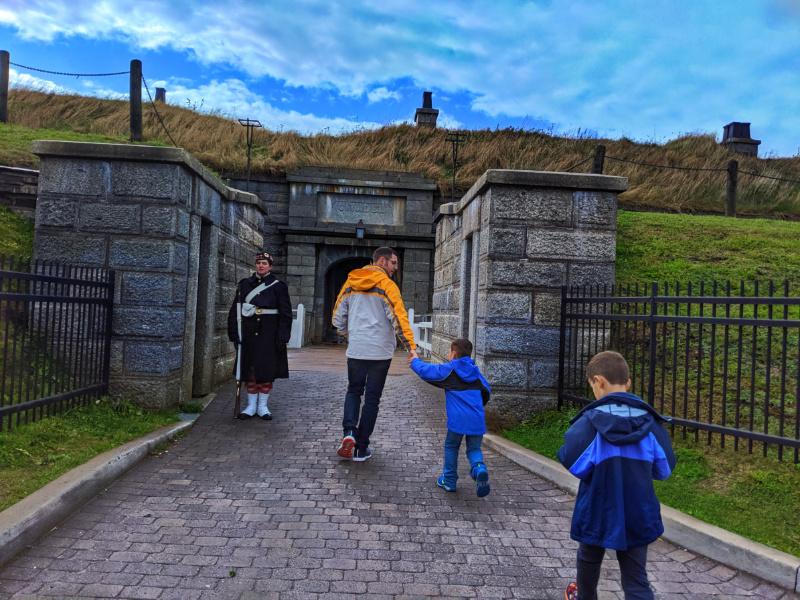 Taylor Family at Halifax Citadel National Historic Site Halifax Nova Scotia 3
