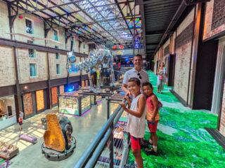 Taylor Family at JW Marriott Savannah with Dinosaur 1