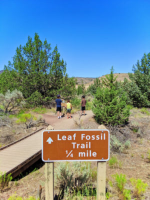 Taylor Family at Leaf Fossil Trail Painted Hills John Day Fossile Beds NM Oregon 1