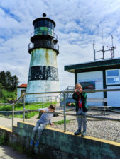 Taylor Family at Lighthouse at Cape Disappointment State Park Ilwaco Washington 2
