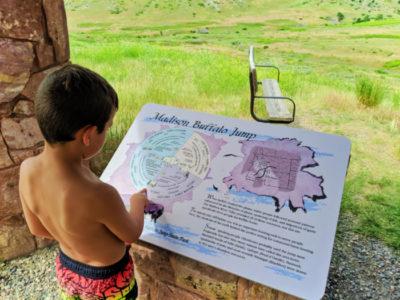 Taylor Family at Madison Buffalo Jump State Park Three Forks Montana 3