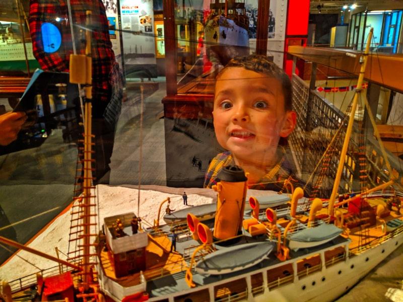 Taylor Family at Maritime Museum of the Atlantic Halifax Nova Scotia 6