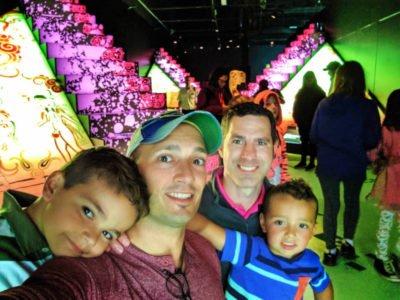 Taylor Family at Maya Exhibit Royal BC Museum Victoria BC 3