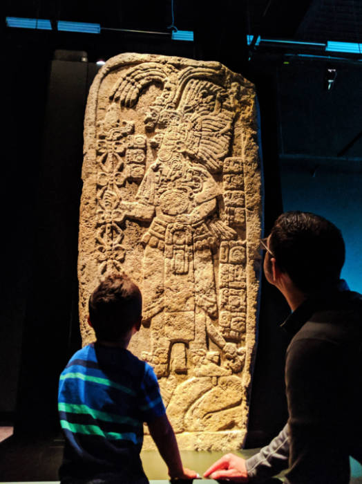 Taylor Family at Maya exhibition Royal BC Museum Victoria BC 12