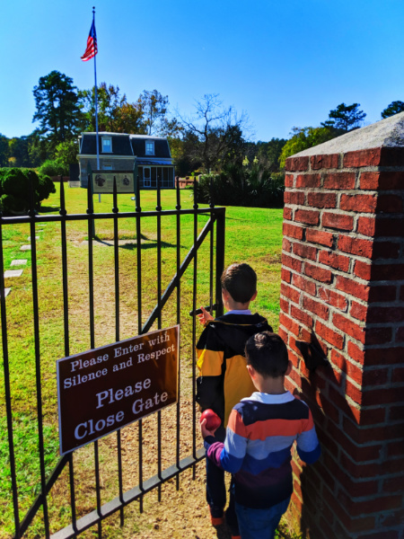 Taylor Family at Military Cemetery Colonial National Park Historic Triangle Yorktown Virginia 3