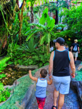 Taylor Family at Navi River Journey Pandora Animal Kingdom Disney World Orlando 1