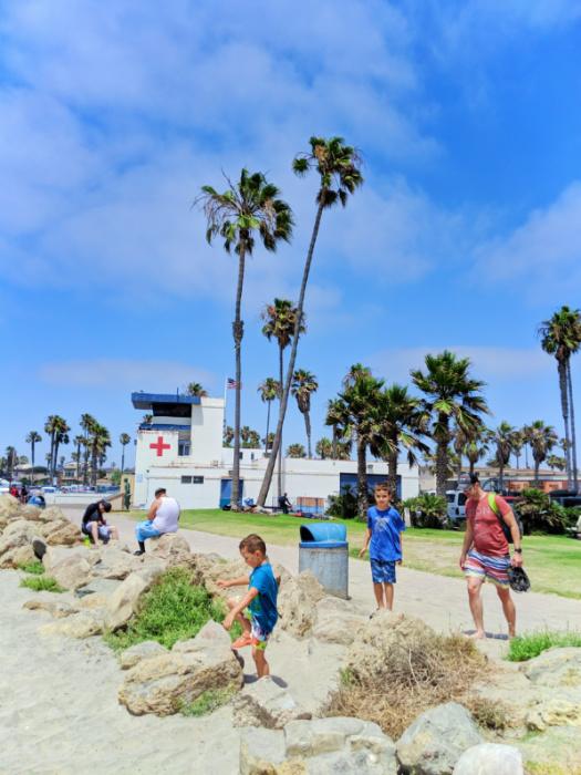 Taylor Family at Ocean Beach San Diego 1