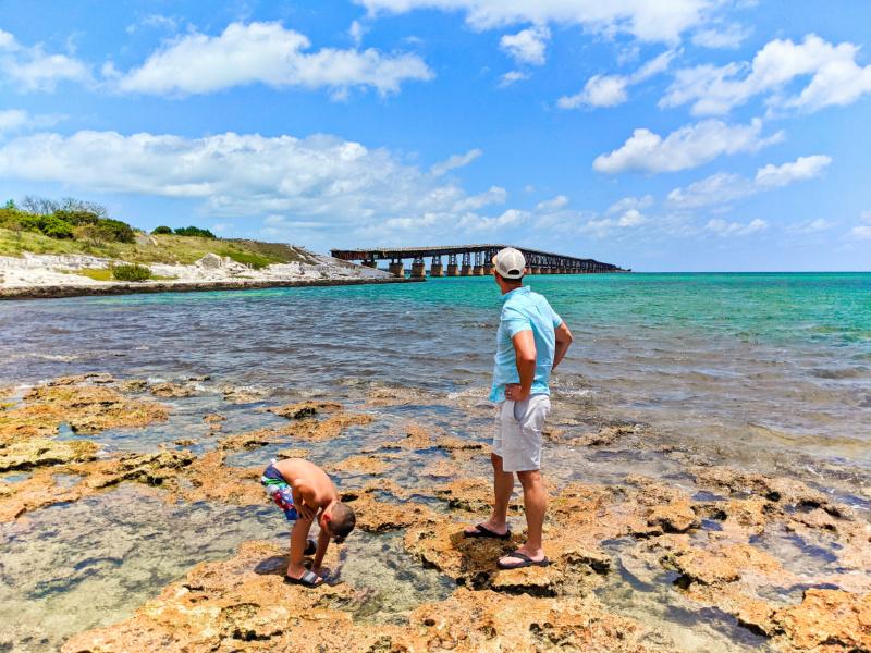 Taylor Family at Old Bahia Honda Bridge Viewpoint Big Pine Key Florida Keys 3