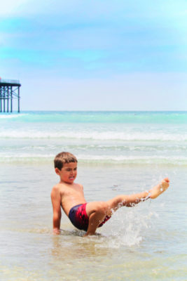 Taylor Family at Pacific Beach San Diego California 9