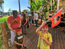 Taylor Family at Pirate Dinner Adventure Buena Park California 2