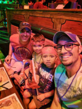 Taylor Family at Pirate Dinner Adventure Buena Park California 6