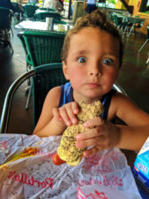 Taylor Family at Portillos Hot Dogs Buena Park California 2