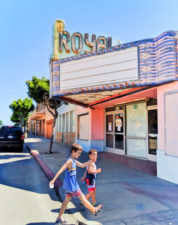 Taylor Family at Royal Theater downtown Guadalupe Santa Maria Valley California 5