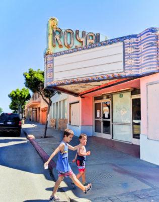 Taylor Family at Royal Theater downtown Guadalupe Santa Maria Valley California 5