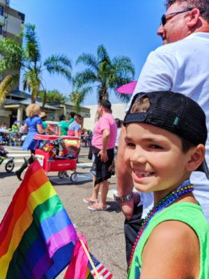 Taylor Family at San Diego Pride Parade 2019 3