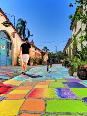 Taylor Family at Spanish Art Village at Balboa Park San Diego California 6
