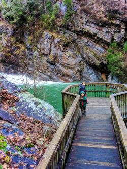 Taylor Family at Tallulah Gorge State Park Tallulah Falls North Georgia 11