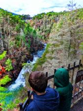 Taylor Family at Tallulah Gorge State Park Tallulah Falls North Georgia 2