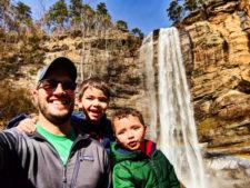 Taylor Family at Toccoa Falls Georgia 4