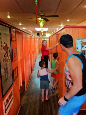 Taylor Family at historic Pekin noodle Parlor Butte Montana 1