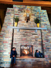 Taylor Family fireside Best Western Plus Bryce Canyon Grand Hotel Bryce Canyon NPS Utah 3