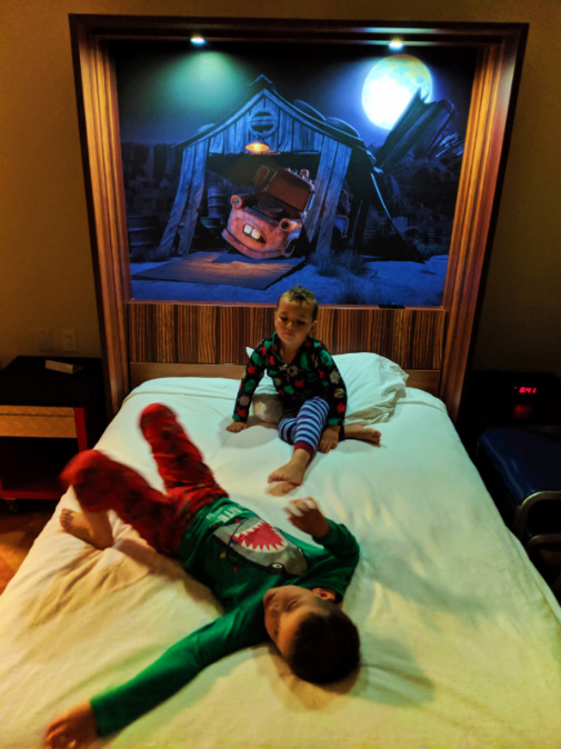 Taylor Family in Family Suite at Art of Animation Resort Walt Disney World Orlando Florida 1