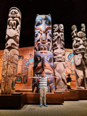 Taylor Family in First Nations exhibition Royal BC Museum Victoria BC 6