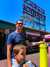 Taylor Family in Pike Place Market Seattle 1