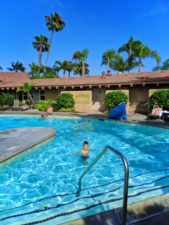 Taylor Family in Swimming Pool at Best Western Island Palms Hotel San Diego California 1