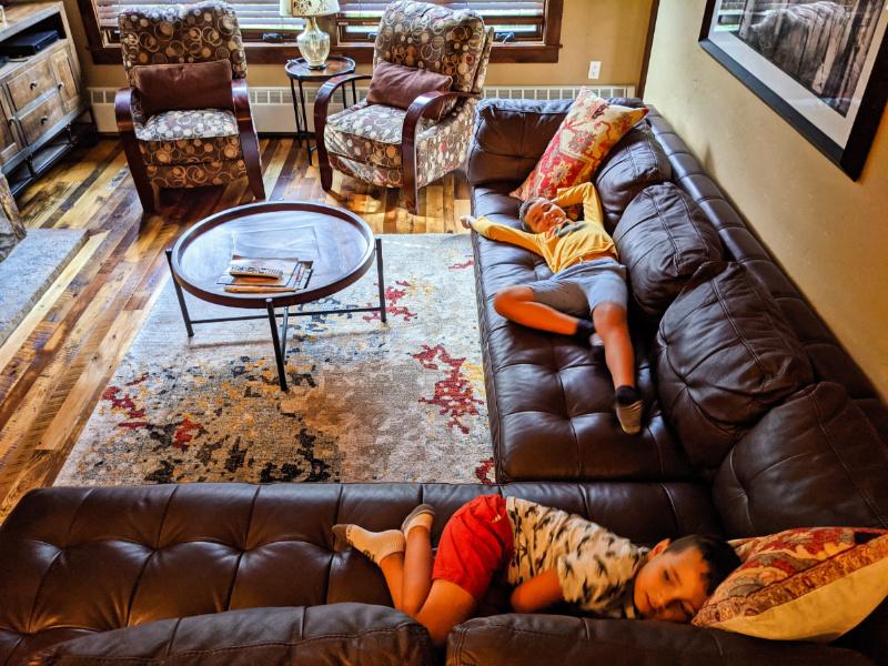 Taylor Family in condo at Water House Vacasa Breckenridge Colorado 1