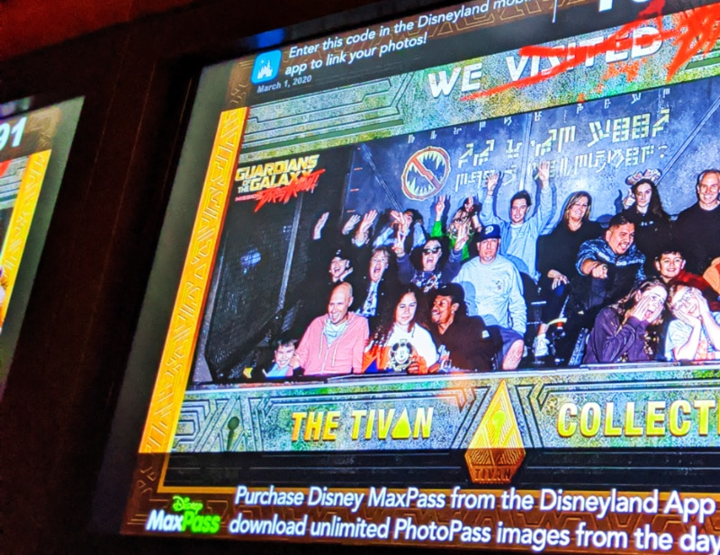 Taylor Family on Guardians of the Galaxy Mission Breakout Californai Adventure Disneyland 2020 2