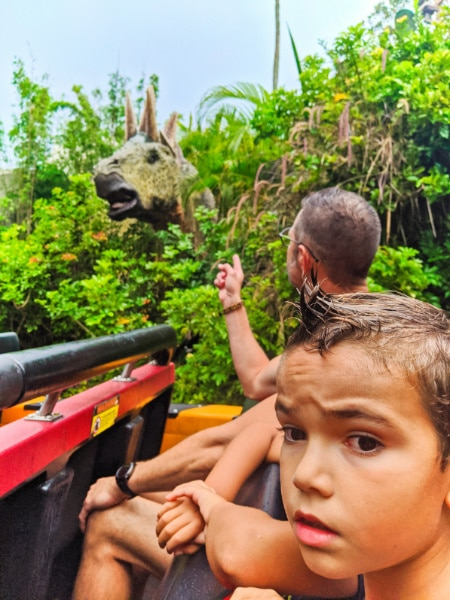 Taylor Family on Jurassic Park Universal Orlando 2020 1