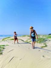 Taylor Family on dunes in Santa Maria Valley California 6