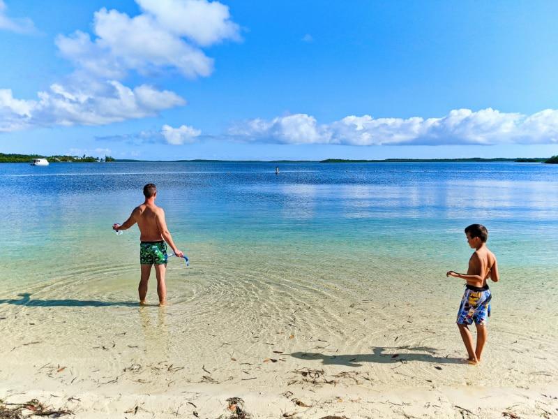 Taylor Family snorkeling at John Pennekamp Coral Reef State Park Key Largo Florida Keys 2020 1