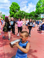 Taylor Family water bottle in Frontierland Magic Kingdom Disney World Florida 1