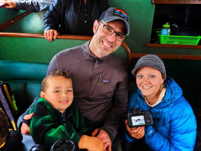 Taylor Family whale watching with Orca Spirit Adventures out of Victoria BC 2
