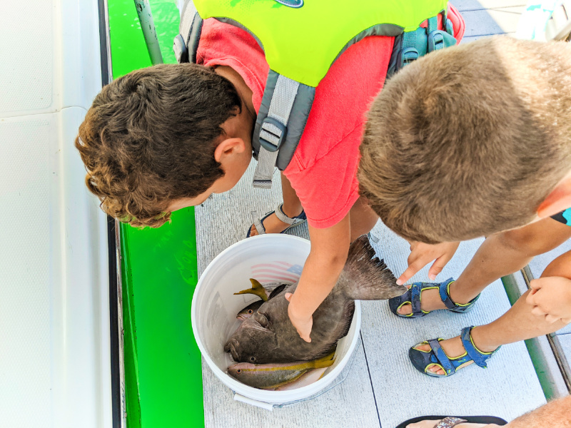 Taylor Family with Fresh Catches with Two Conchs Fishing Marathon Key Florida Keys 2020 1