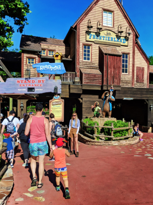 Taylor Famiy at Splash Mountain Magic Kingdom Disney World Florida 5