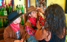 Taylor Kids at Old West Photo Shoot Virginia City MT 2