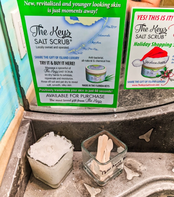 The Keys Key Lime Salt Scrub at Mrs Macs Kitchen Key Largo Florida Keys 2020 1