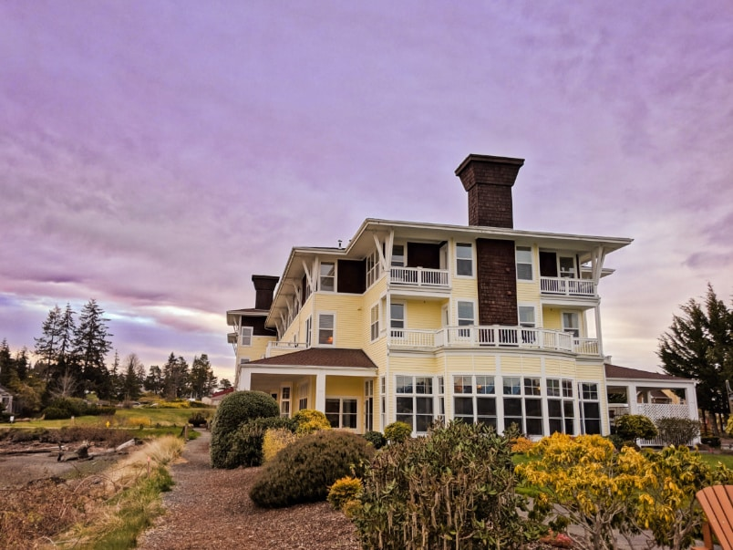 The Resort at Port Ludlow in Autumn Olympic Peninsula WA 3