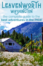Leavenworth, Washington is loaded with things to do in winter and summer. It's the Pacific Northwest destination for every season, including budget travel and outdoor adventures.