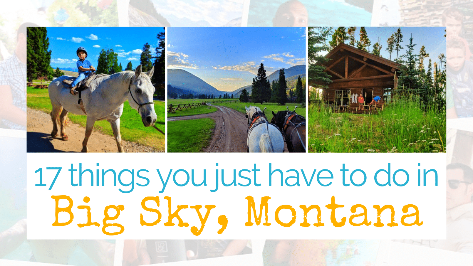17 Perfect Things to Do in Big Sky, Montana (that aren't stalking Tom Brady)
