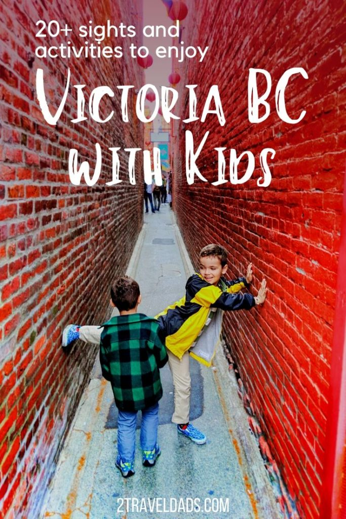 Victoria with kids is an adventure full of fun, architecture, gardens, wildlife and more. 18 activities for a family trip to Victoria BC. 2traveldads.com