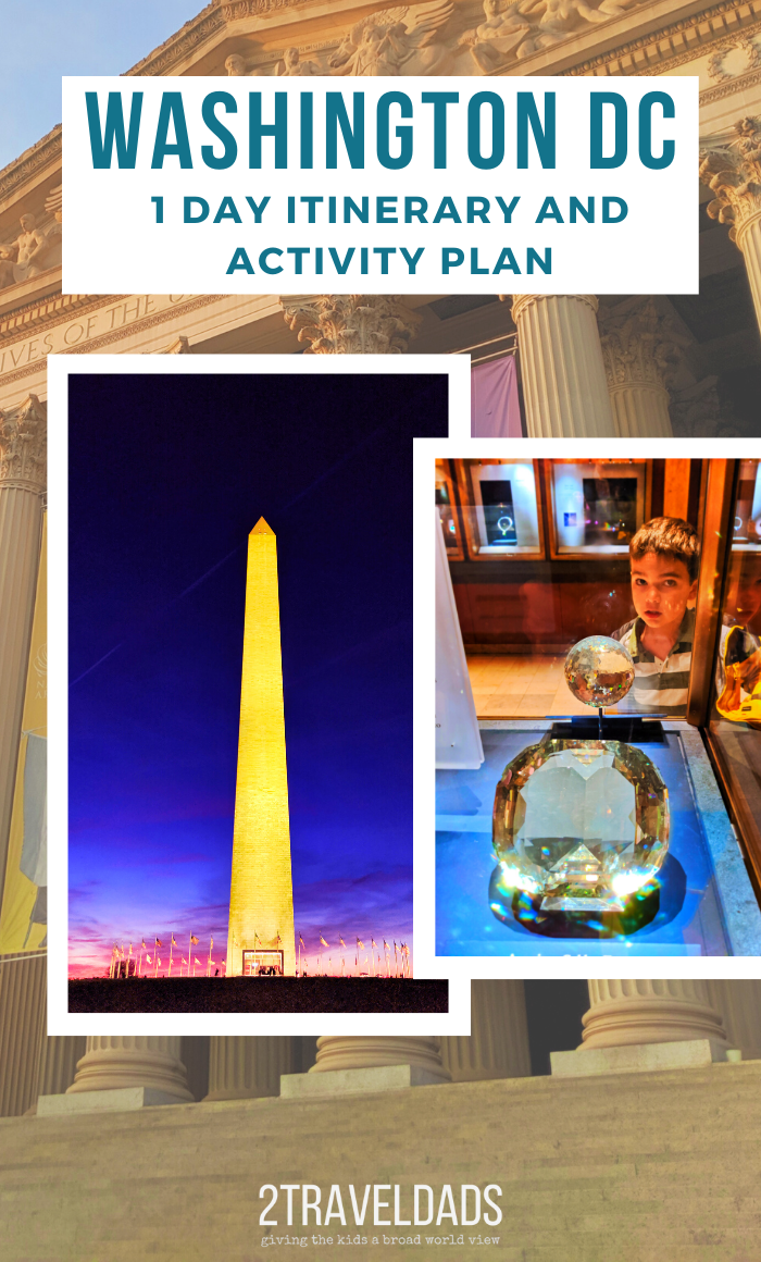 Ideal itinerary for a Washington DC day trip, including things to do, what to see, and how to get to DC.