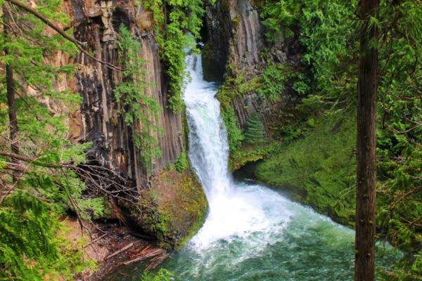Tokatee Falls Umpqua National Forest Oregon 3
