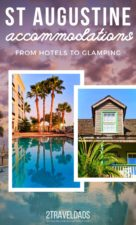 Reviews and recommendations of hotels in St Augustine, from Best Westerns to historic hotels. Also camping and vacation rental recommendations near the beach. #Florida #StAugustine #hotels